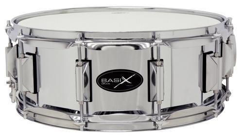 Basix F801112 Classic Rullante, Acciaio, Snare Drum, 14 X 5,5 Pollici