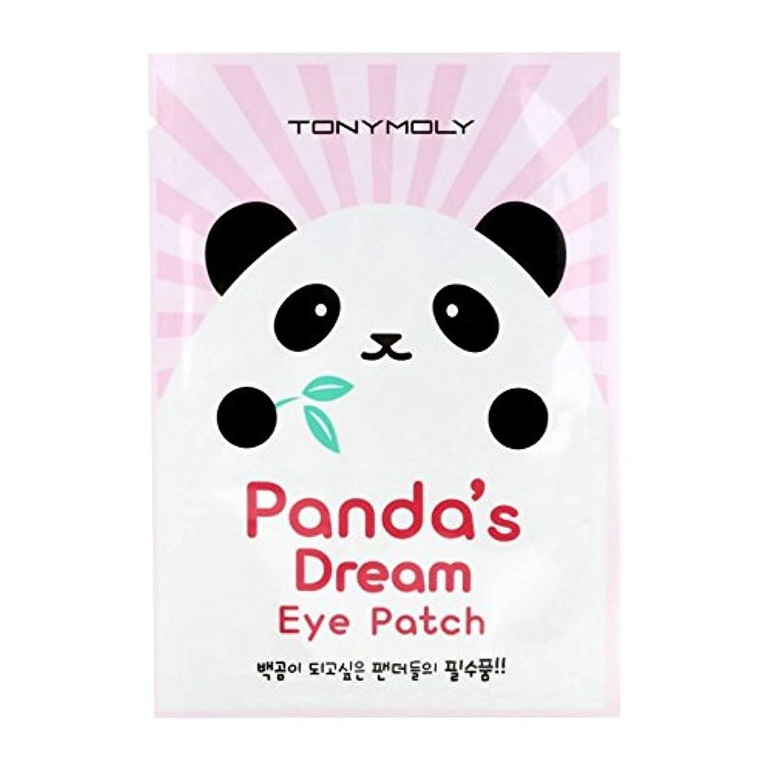 樹皮潤滑するジャム(6 Pack) TONYMOLY Panda's Dream Eye Patch (並行輸入品)