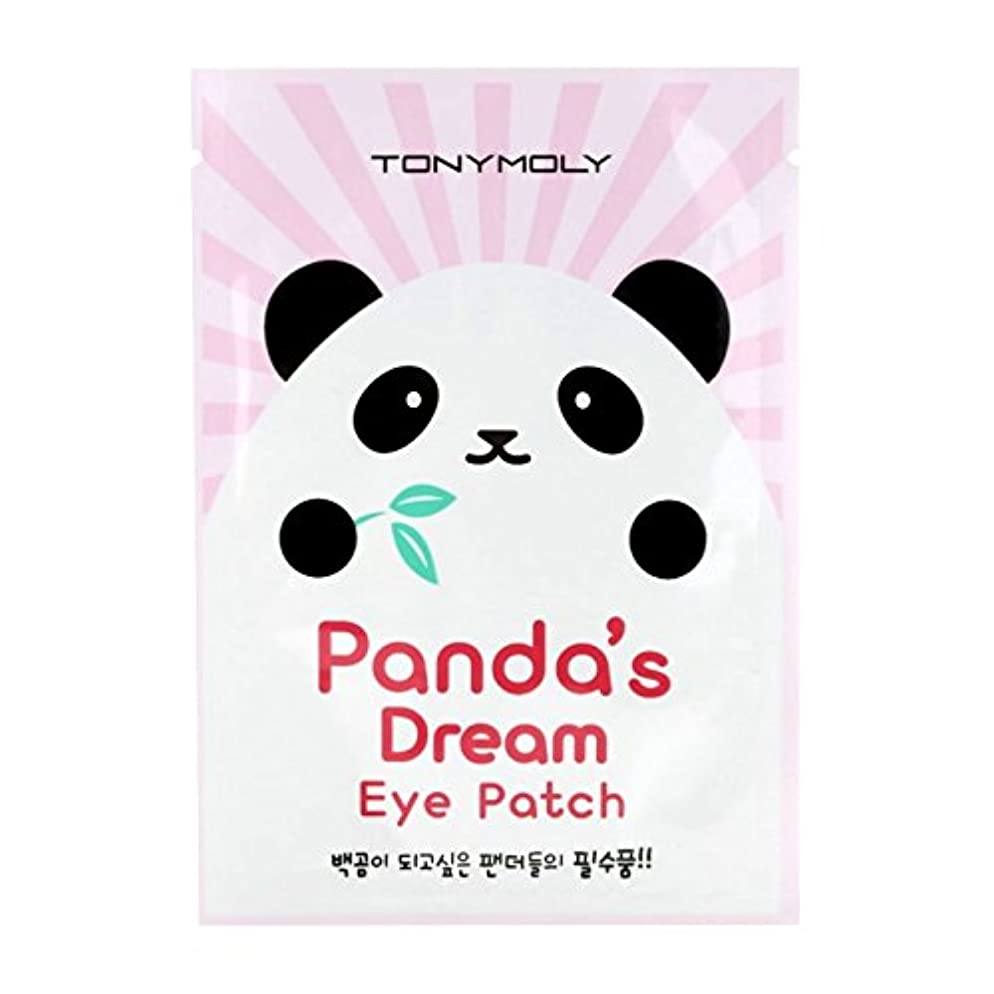 ジョブ眠り満員(6 Pack) TONYMOLY Panda's Dream Eye Patch (並行輸入品)