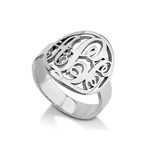 monogrammed ring - 9