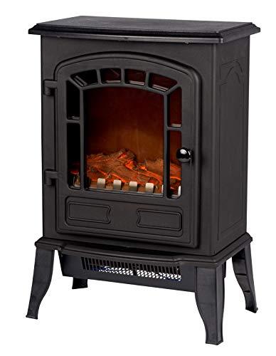 Classic Fire 'Torino' - Elektroheizung mit Kaminfeuer Effekt - 2000W