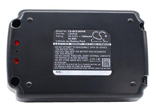 Replacement Battery for Black & Decker CST1200, CST800, LHT2436, LST136, LST220, LST300, LST400, LST420, LSWV36, MST1024, MST2118, NST1118, TC220