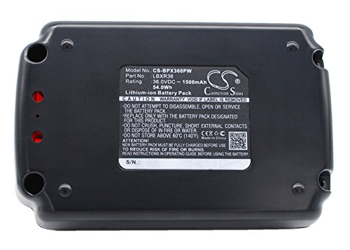 Replacement Battery for Black & Decker CST1200, CST800, LHT2436, LST136, LST220, LST300, LST400, LST420, LSWV36, MST1024, MST2118, NST1118, TC220