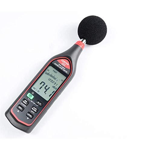 WSMLA Digital Medidor de Sonido Mini Sonido de Audio de medición y...
