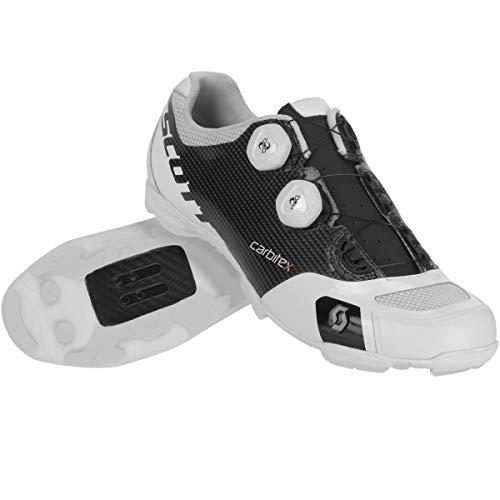 Scott MTB RC SL Fahrrad Schuhe weiß/schwarz 2019: Größe: 48