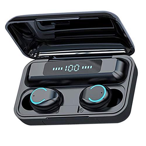 Allayu F9-9 Pantalla LED de Touch Auriculares inalámbricos Auriculares Bluetooth Wireless TWS 5.0 Deportes Impermeables Auriculares estéreo