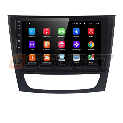 Android 10 Car GPS Navigation Fit para Mercedes Benz: E-W211