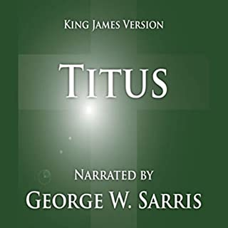 The Holy Bible - KJV: Titus audiobook cover art