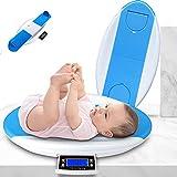 LYXCM Báscula para Bebés, Escala para Mascotas con Bandeja De Altura Mida El Peso con Precisión Niños Pequeños