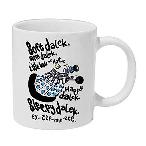 Soft Dr. Dalek Who Imitated The Big Cup of Ceramic Muqs 11OZ Coffee Mug
