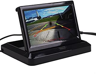 Car Truck Vehicle Small Mini Digital 5 Inch Monitor Screen Flip Down Folding Foldable by HitCar
