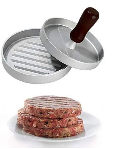 Hoga Burgermaker Einzel Doppel Burgerpresse Fleischpresse HF135 (Einzelformat)