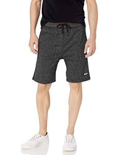 Brooklyn Athletics Men's Gym Shorts Casual Lounge Essential, Onyx Marl, Medium
