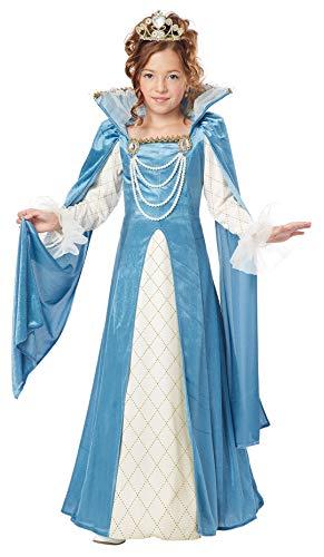 California Costumes Renaissance Queen Child Costume, Medium