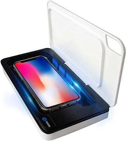 ZHZW UV Handy Sterilisator Smartphone Desinfektionsgerät,Professionelle Mini Desinfektionsschrank, UV-Desinfektionsbox, Für Kamm/Zahnbürste