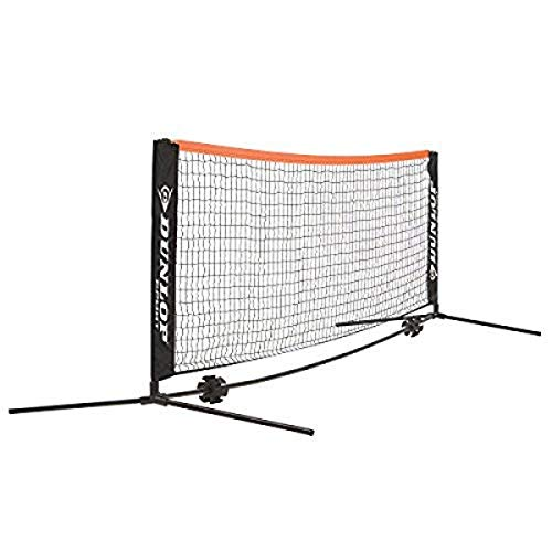 Dunlop Unisex-Adult 622540 Mini Tennis/Badminton Netz 3m, Grün, One Size
