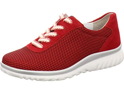Semler Damen Lena Sneaker, Rot (Fire 066), 39.5 EU