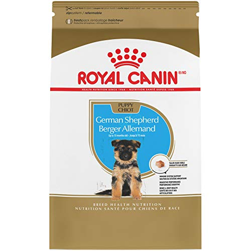 Royal Canin German Shepherd Puppy Breed Specific Dry Dog Food, 30 Pounds Bag