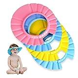 EPRHY Baby-Shampoo für Dusche, Badeschutz, weich, verstellbar, für Babys, Kinder, 4 Stück