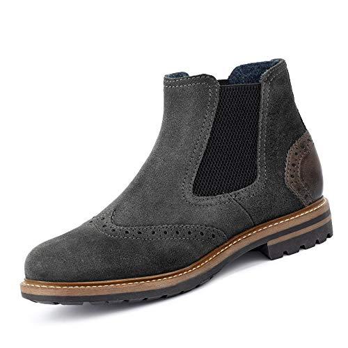 bugatti Herren 311815601400 Klassische Stiefel, Grau, 43 EU