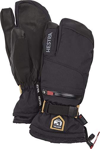 HESTRA All Mountain CZone 3-Finger Handschuhe Black Handschuhgröße 9 2020 Outdoor Handschuhe