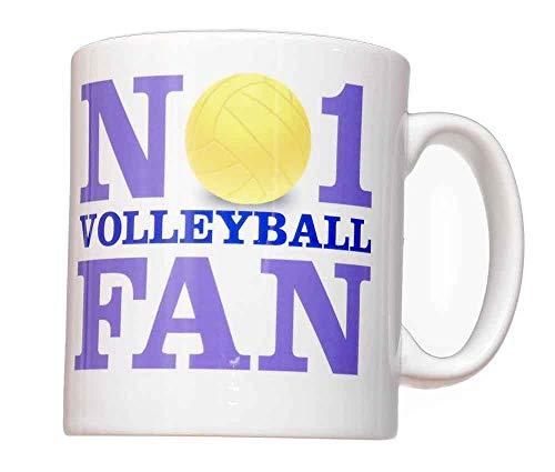 Nr. 1-Volleyball-Fan Tasse