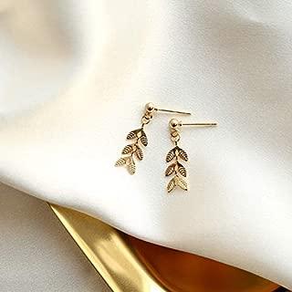 Best leaf earrings studs Reviews