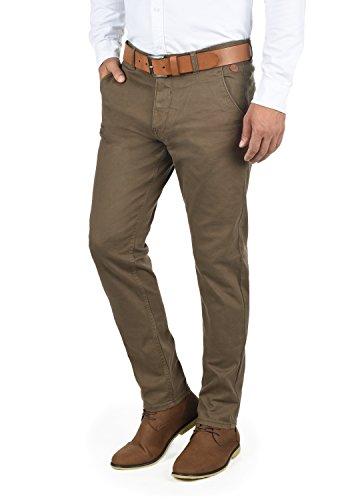 Blend Kainz Herren Chino Hose Stoffhose Aus Stretch-Material Regular Fit, Größe:W31/34, Farbe:Mocca Brown (71508)
