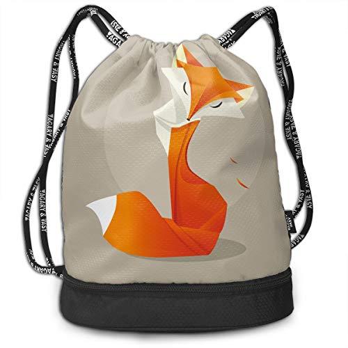 EU Orange Renard dans Le Style décoratif carré Housses de Coussin Textures Housse de Coussin 18 x 18 Pouces 45 x 45 cm Velours