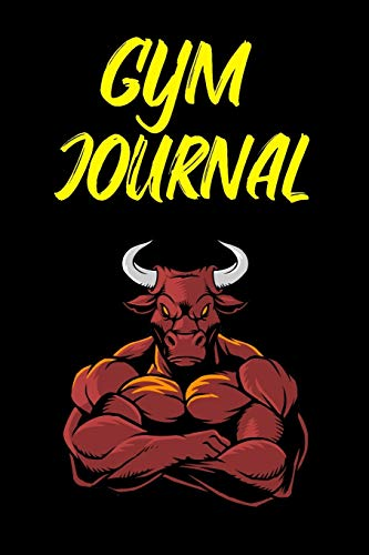 Gym Journal: Bull Gym Journal Lift Tracker - Record Your Weights, Reps, Sets, Personal Bests