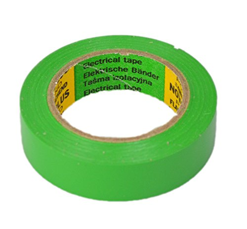 Glacette Band Lunghezza: 10 m Larghezza: 15 mm colore verde Isoband tipo installazione conforme con VDE, ove e Fig