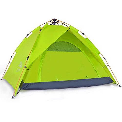 Check Out This Kids Play Tunnels Mountaineering Tents Free Build 3-4 Automatic Windproof Sunscreen W...