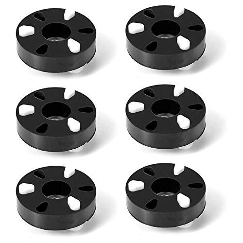 PUGONGYING Popular 6pcs 285753A Kit de Acoplamiento de Motor Ajuste para la Unidad Directa Whirlpool & Kenmore Laveras - Reemplaza AP3963893 Durable