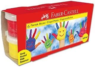 Faber-Castell 5170160422 Parmak Boyası, 45 Ml, 6 Renk