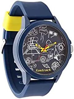 Fastrack Casual Watch For Unisex Analog Rubber - 38024PP46