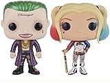 Funko Suicide Squad – Figuras Pop! Vinilo – Harley Quinn y el Joker Anime Figuras