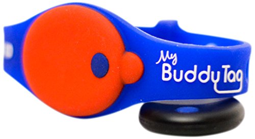 My Buddy Tag with Silicone Wristband
