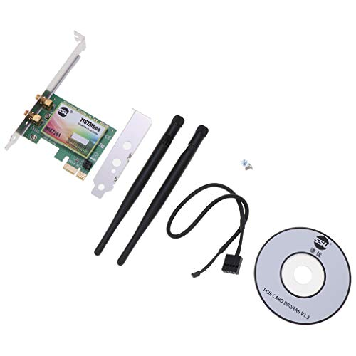 #N/A/a Tarjeta de Red Inalámbrica PCI E WiFi USB Adaptador de Red Informática Bluetooth 4.0