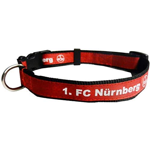 Hundelhalsband klein FCN 1. FC Nürnberg Hunde-Halsband Halsband