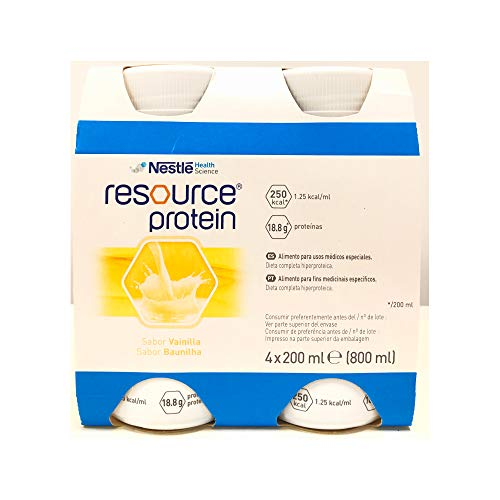 Resource Protein Vainilla 200 ml x 4