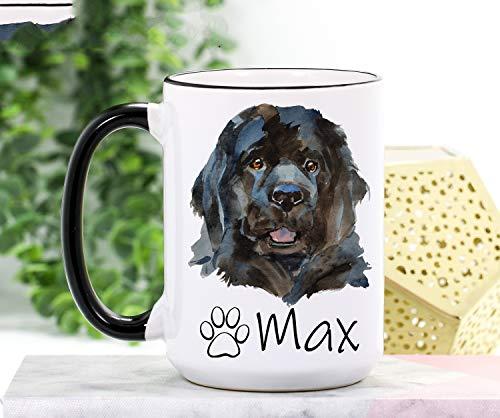 Taza de cocina con diseño de Terranova para mamá Terranova Regalo de Terranova Regalos personalizados para el dueño del perro de Terranova Regalos para perros