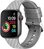 Mysail Sports Soft Silicone Band Compatible with iWatch 40...