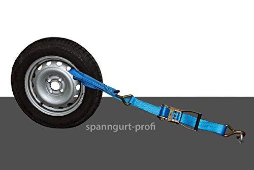 Spanngurt Auto Transport 50mm Zurrgurt 5t Radsicherung seitliche Radverzurrung Reifengurt (6)