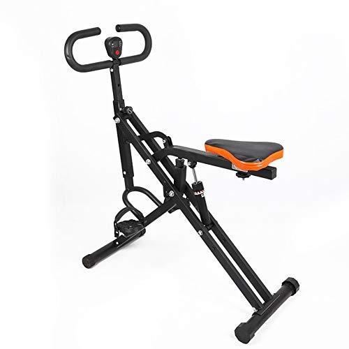 Gyms Indoor Fitnessgeräte, Aerobic-Trainer mit Faltbare Heimtrainer festen vertikalen elektromagnetischen Trainer