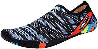 Unisex Water Shoes, Hombres Mujeres Pies Descalzos, Calcetines de Buceo, Calzado de natación de Secado rápido para Snorkel Surf Piscina Playa Deportes acuáticos