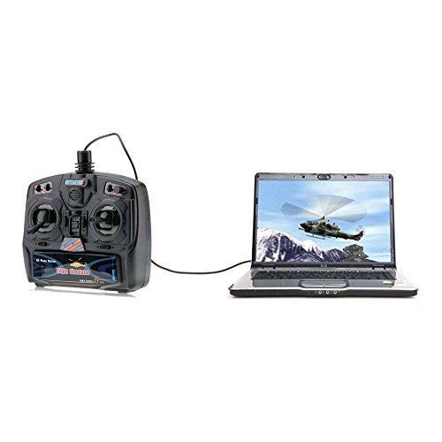 Preisvergleich Produktbild 8-Kanal Fernbedienung USB Flugsimulator inkl. FSM Software
