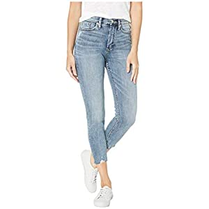 Silver Jeans Co. Women's Calley Mid Rise Skinny Crop