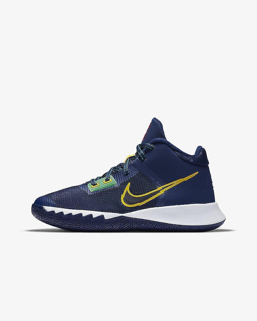 Nike Big Kids Kyrie Flytrap 4 Blue Yellow CT5537-400