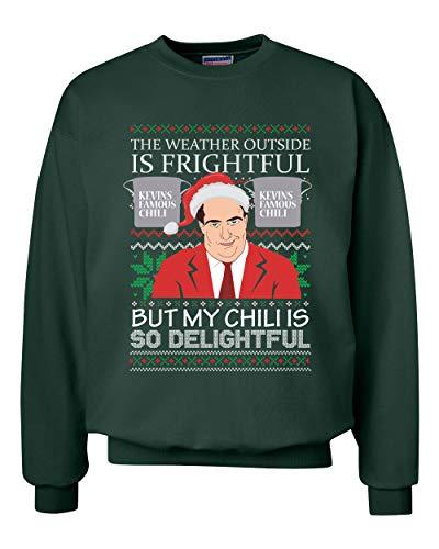 Men's Graphic Crew Neck Sweaters