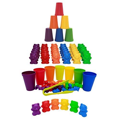 LouiseEvel215 Pesas Oso Material didáctico Coordinación Cerebral Área de Juegos de jardín de Infantes Educación Infantil temprana Educación Montessori